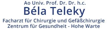 Prof. Dr.Dr. Béla Teleky